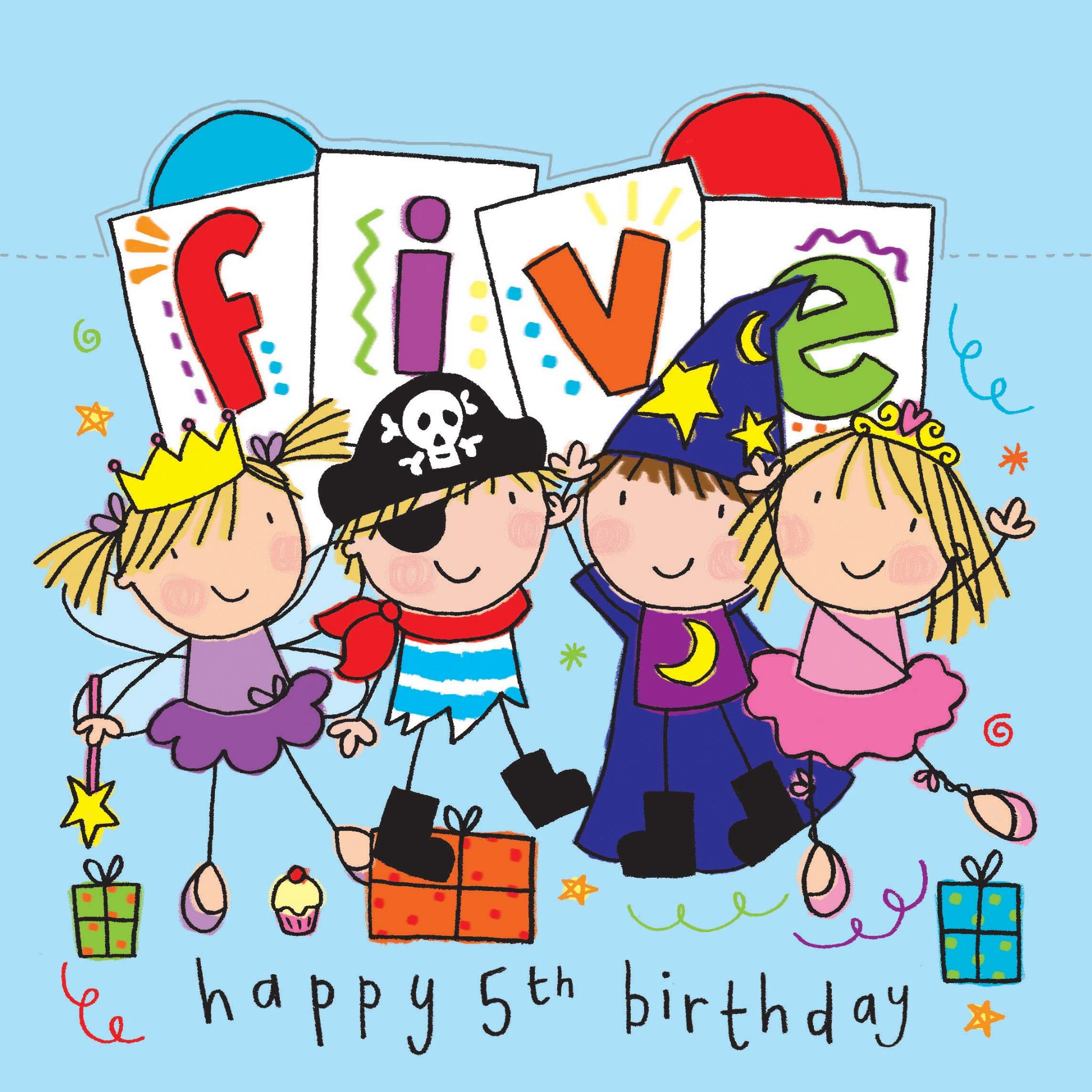 Age 5 Milo Happy Birthday Card Age 5 Boys Birthday Card