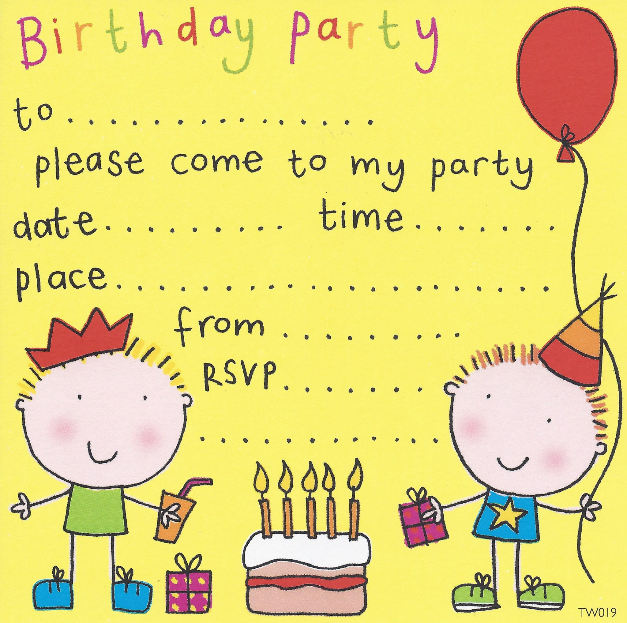 Party invitations birthday party invitations kids party party invitations birthday party invitations kids party invitations childrens party invites stopboris Gallery