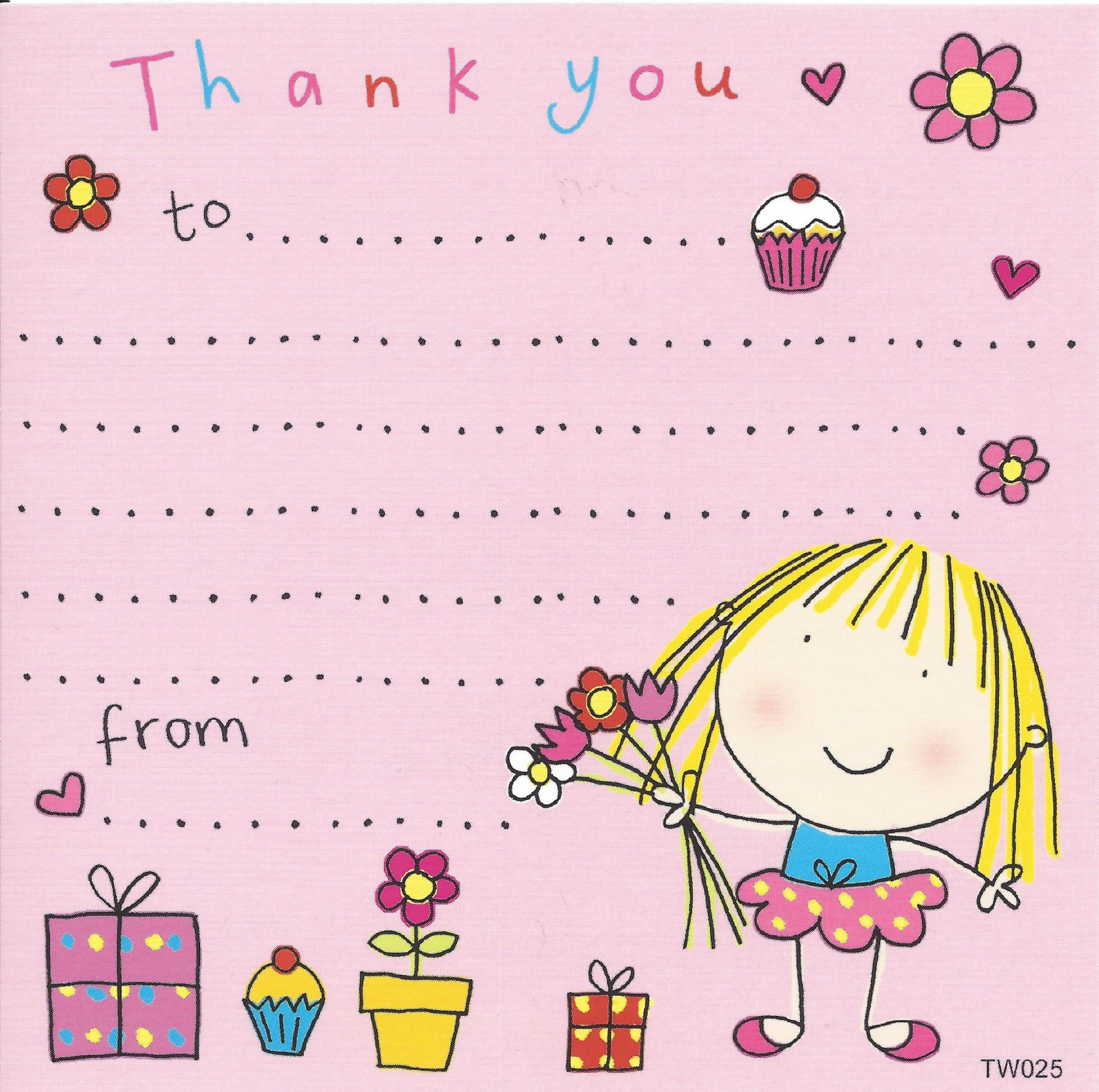 thank you notes for kids thank you cards for children kids thank