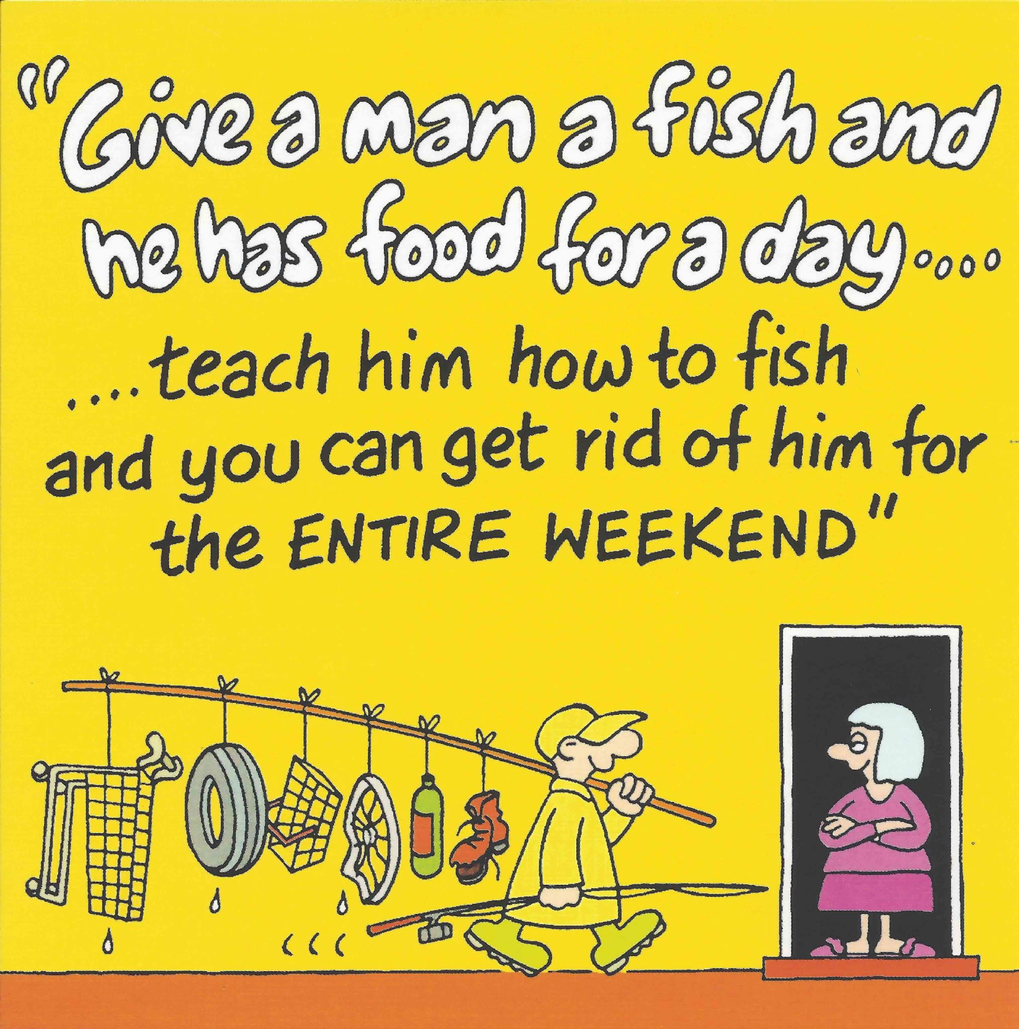 Fishing Funny Card Birthday For Men