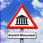 Happy Birthday Card - Ancient Monument