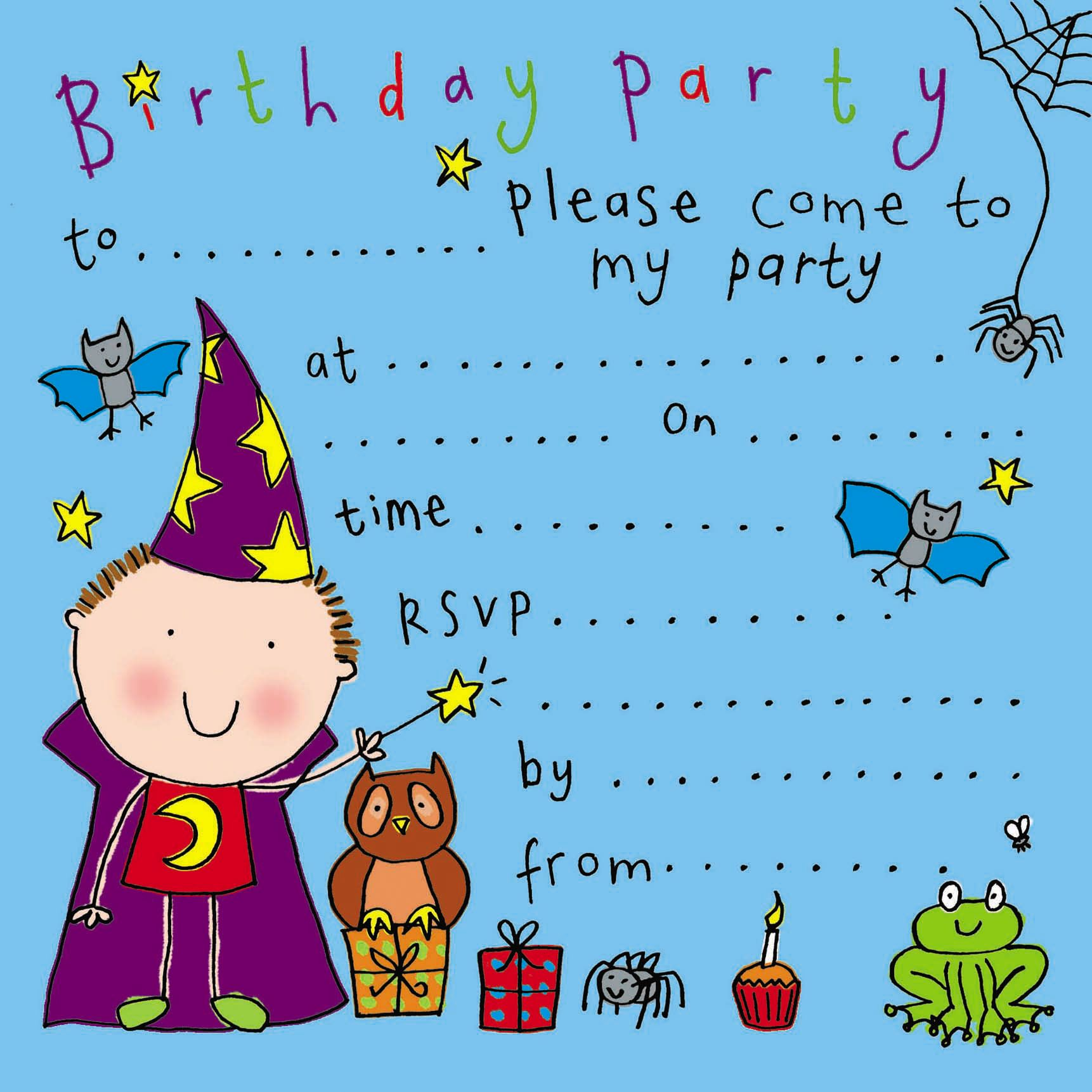 party invitations birthday party invitations kids party invitations childrens party invites